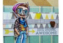 Kody - Some Odd Girl / Cards & crafts using Kody digital and clear stamps by Some Odd Girl. / by Some Odd Girl