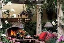 Outdoor spaces / by Kathy Zour