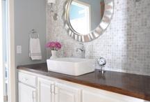 bathroom redo / by Julie Holton