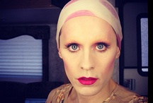 "30STM - Rayon / The new woman in Jared Leto's life. AKA Jared filming in drag for ""The Dallas Buyer's Club"". / by Rebecca"