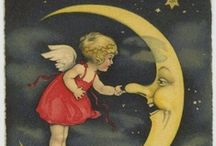 Moon Illustrations / by Rebeca Maltos