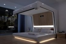 Bitchin' Beds / Unusual and luxury beds for residential or commercial use. Multimedia beds, Funky Beds, Custom Beds or just plain awesome Beds.