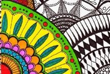 Zentangle & Doodles / by Rebeca Maltos