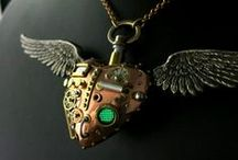 Steampunk / Steampunk art, home decor, fashions and anything else in the design genre. 