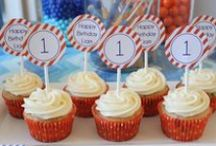 1st Birthdays! / The perfect ideas for a birthday party for the youngest member of the family!