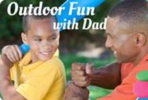 Backyard BBQ & Outdoor Fun / Summer is here! Are you ready to play outside all day, fire up the grill at night, sit around the fire or pitch a tent a the end of the day? WE ARE!