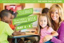Teacher Gifts / Show your teachers that you appreciate them.