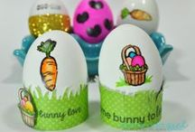 Easter - Some Odd Girl / Easter crafts and cards that are made using Some Odd Girl images.