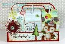 Christmas - Some Odd Girl / Christmas cards and crafts using Some Odd Girl stamps.