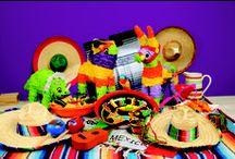 Feliz Cinco de Mayo! / Celebrate Cinco de Mayo at home or in the classroom with these party tips, recipes and facts about this Mexican Celebration!