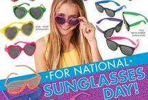Sunglasses Galore! / Fun in the sun has never been so shady with our sun glass surplus at USTOY.com