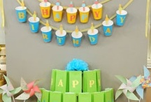 Party Ideas / People are so darned creative! This will fill your party idea list to the brim. Easy decorations, fun food, delicious treats, beautiful table layouts, it is all here! / by Sanet's Fun Stuff