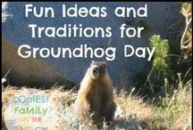Holidays: Groundhog Day / February 02 is Groundhog Day!