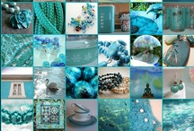 In Love With... Teal & Aqua / Two colours that can describe my every mood... :-) )-: