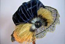 Edwardian (1910-14) - Hats & Hair / Headwear / by Bess Chilver