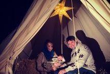 Fotoideeën voor de kerstkaart / Onderdeel van de adventskalender mizflurry.blogspot.nl