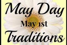 Holidays: May Day / Big May Day Round Up: http://coolestfamilyontheblock.com/2014/04/30/may-day-round-up/ May 1st is May Day!  Find ideas, traditions, and tutorials for celebrating May Day including May Basket inspiration, Maypoles, May Day Treats, and free May Day printables!