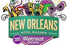 iRetreat 2015 / iRetreat (June 2015) in New Orleans, LA is a blog conference focusing on bloggers as the CEO of their brand guiding attendees along the ABC's of blogging– Aspiring, Building and Connecting. / by Cecelia Mecca