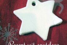 Kerst | Christmas / Leuke, mooie en makkelijke kleine DIY en knutselprojecten voor kerst.