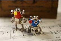 Robot design .massanovaart / マサノヴァアートの工業製品部品キャラクター