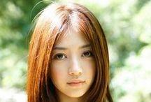 *[JP] Rina Aizawa 逢沢 りな / 28th July 1991 / by Pinterest