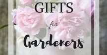 Gifts for Gardeners / This board is all about gifts for the gardeners in your life! If you would like to contribute to this board, follow OrchardHollowTX and send a message asking for an invite :)