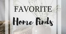 Favorite Home Finds / This board is for all things home! Home decor, bedroom & living room furniture & accessories, kitchen, and outdoor.  If you would like to collaborate on this board, please follow and send a message with your Pinterest link to amelia@orchardhollow.com.
