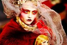 RED / Pigment, Color, Makeup, Clothing, Inspiration.