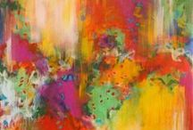 PAINTING * COLOR / Abstract Art, Color Field, Expressionism, Contemporary, Theory.