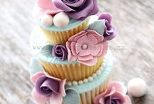 Cupcake / Cupcakes! In all shapes, sizes and flavours.  Cupcakes! In alle vormen, maten en smaken.