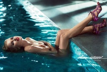 Bathing Beauties / Inspired by the Brian Atwood Spring 2013 Fashion Film starring Eva Herzigova / by Brian Atwood