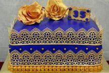 My Fondant cakes / by Nadia