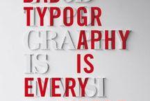 > typography <