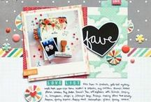 Scrapbooking / #Scrapbooking #Papercrafts / by Kristy Dalman