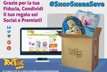 #ShopShareSave / Acquista su TocTocShop.com, Condivi il Tuo Acquisto sui Social e Ricevi uno sconto del 25% per il tuo prossimo acquisto!
