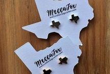 Mecca Fox / MECCA FOX http://thetwistedchandelier.com/collections/meccafox All Mecca Fox jewelry is nickel & lead free!! Made in Texas.