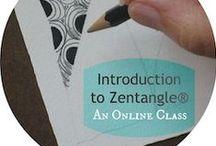 Zentangle and Inspiration