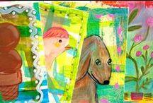 Visual Journals and Art Journals / Art journaling, sketchbooks, and visual journals