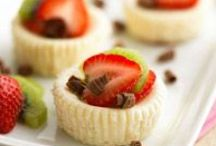 Diet-Friendly Desserts / Healthy, low-calorie dessert recipes to satisfy your sweet tooth.