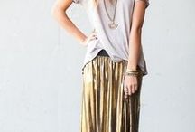 Bohemian Chic / Bohemian fashionista, freestyle and chic.