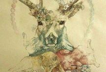 Illustration. / by Siw Helene Adolfsen