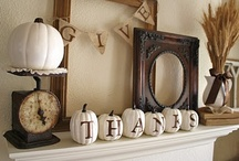 Fall Decor / by Susan Wallace