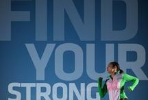 #FindYourStrong Fridays / [SPONSORED by Saucony] Every Friday, we'll pin a new #FindYourStrong motivational image and quote. Do you have a personal mantra you want to see us use? Tweet it to us at @fitnessmagazine and use the hashtag #FindYourStrong! We'll credit your Twitter handle in the pin's description if it gets chosen!