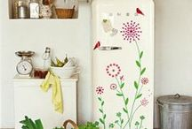"""Frigo Déco / Idées de décorations originales ou insolites autour du réfrigérateur, parfois aussi appelé """"frigo"""" !"""
