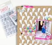 Scrapbooking Ideas / Fun and creative ways to make you feel inspired to get scrapbooking using Sweet Stamp Shop products.