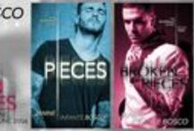 The Riverdale Trilogy - By Janine Infante Bosco / Book 1 - Pieces available on Amazon/Barnes & Noble  Book 2 - Broken Pieces available on Amazon/Barnes & Noble Book 3 - Fitting the Pieces available on Amazon/Barnes & Noble September 30th 2014