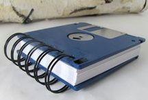 Recyclage & bricolages informatiques / Astuces et idées pour ré-utiliser ou réinventer vos accessoires informatiques : disquettes, ordinateurs, claviers... Merci à leurs auteurs !