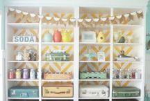 Crafty Craftrooms / by Tessa Curtis