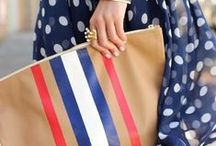 Red White and Blue Fashion / Independent Style.