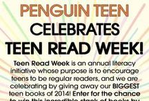 """Teen Read Week """"Build Your Dream YA Library"""" Sweepstakes / Enter to win Penguin Teen's biggest YA novels of 2014 by entering our Teen Read Week sweepstakes!"""
